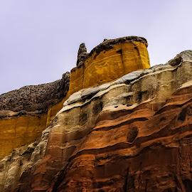 Echo Caonyon by Robert Smith - Landscapes Deserts ( history, national park, near chama new mexico, echo canyon, new mexio )