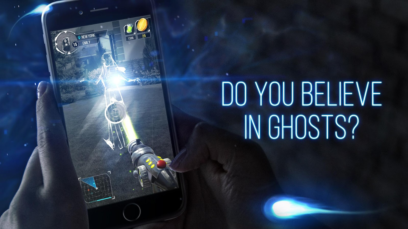 Ghost GO: Paranormal Radar Screenshot 0