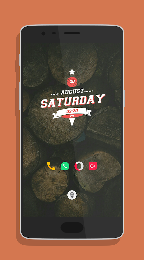 minimo kwgt Screenshot 4