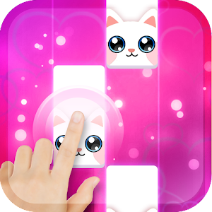Pink Cat Piano - Magic Girly Piano Tiles Cat For PC / Windows 7/8/10 / Mac – Free Download
