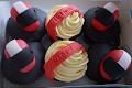 Motorbike Theme Cupcakes