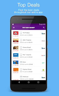 Free Gift Card Granny - Buy & Sell Discount Gift Cards APK for Windows 8