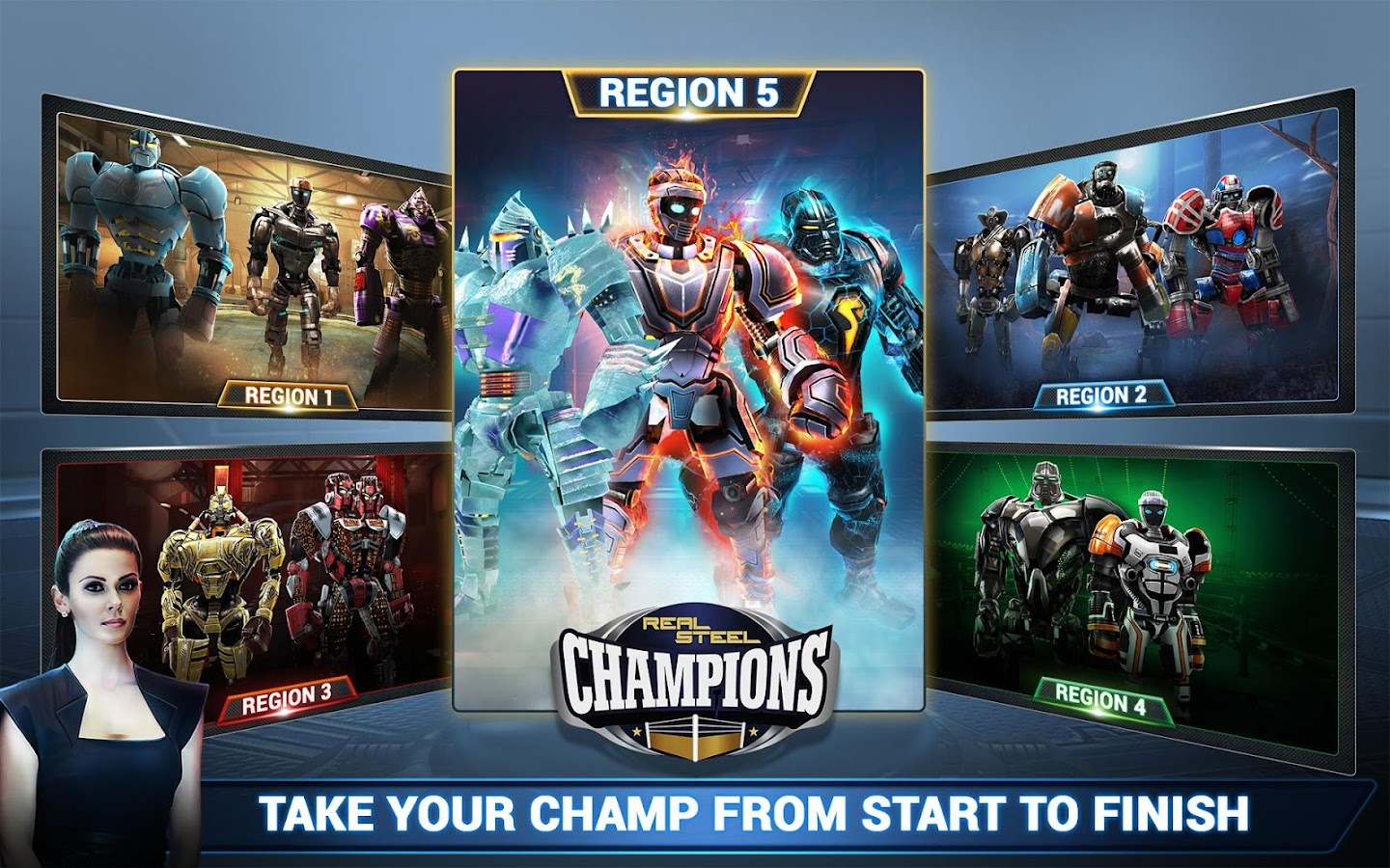 Real Steel Boxing Champions Screenshot 19
