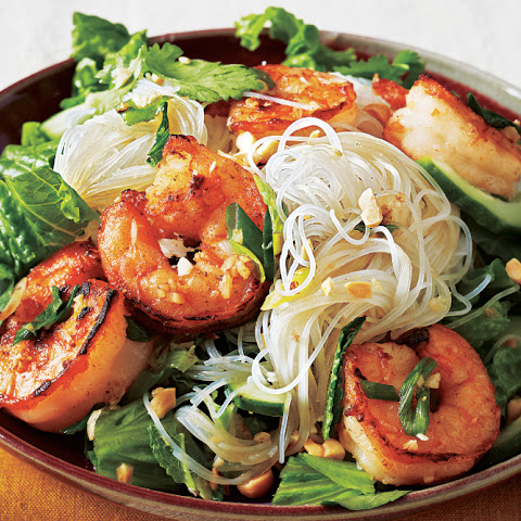 Grilled Vietnamese Shrimp Noodle Bowl