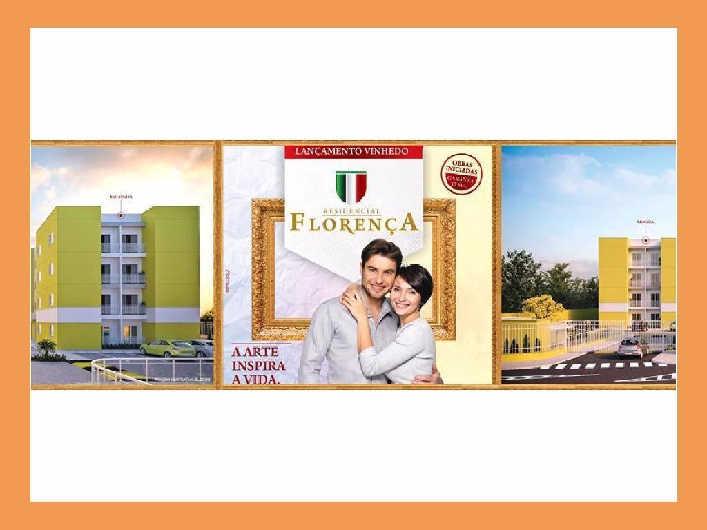 Apartamento com 2 dormitórios à venda, 51 m² por R$ 214.200 - Fazenda Santana - Vinhedo/SP