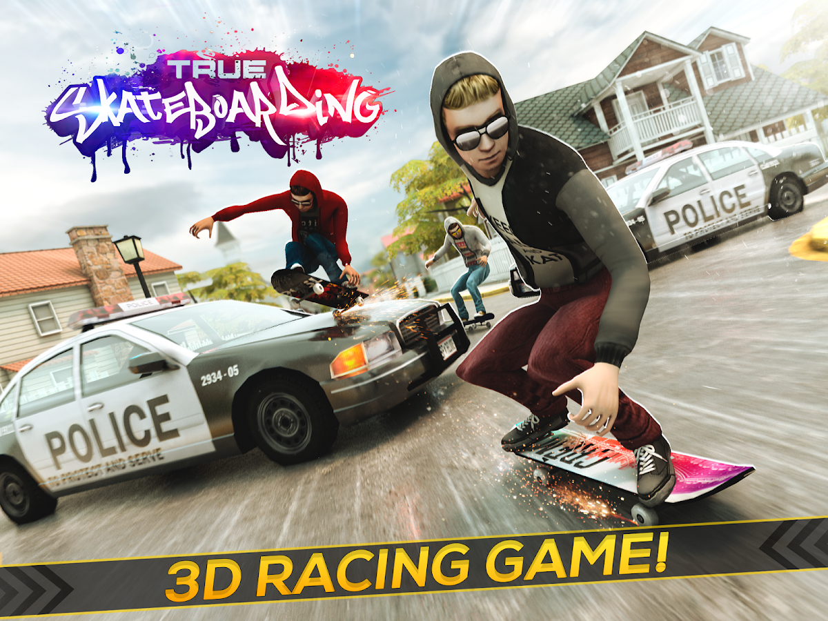 True Skateboarding Ride Screenshot 4