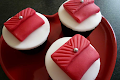 Red Purse Cupcakes