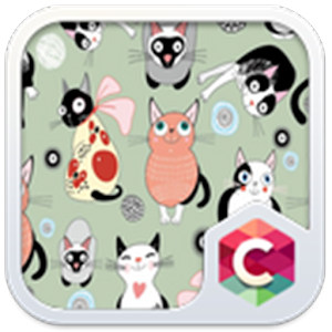 Cute Kitty Theme C Launcher for PC-Windows 7,8,10 and Mac