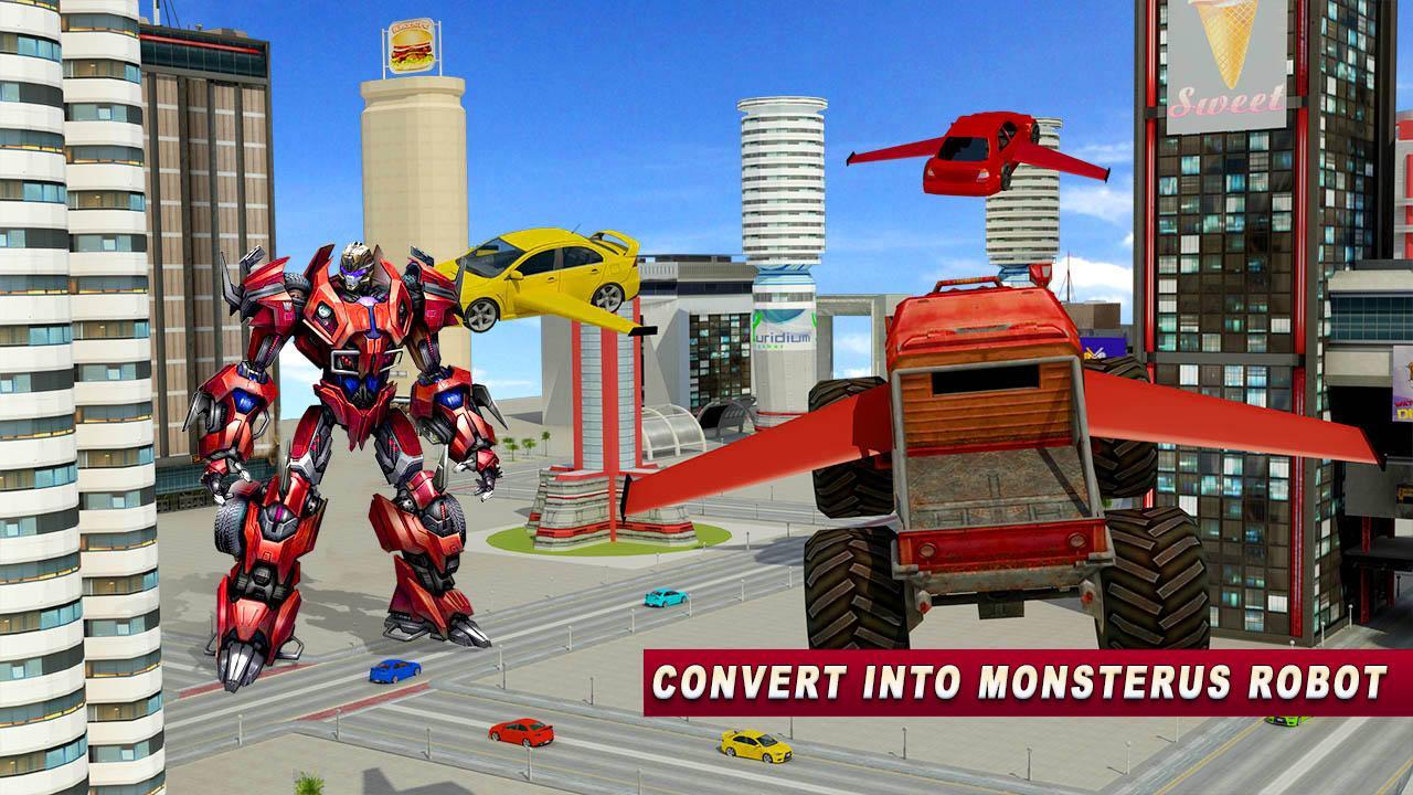 Fliegende Monster Truck Wars android spiele download