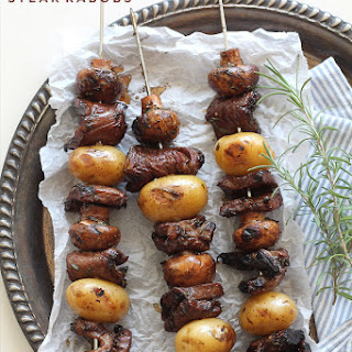 Balsamic Rosemary Steak Kabobs