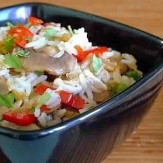 Jasmine Rice With Vegetables And Chicken