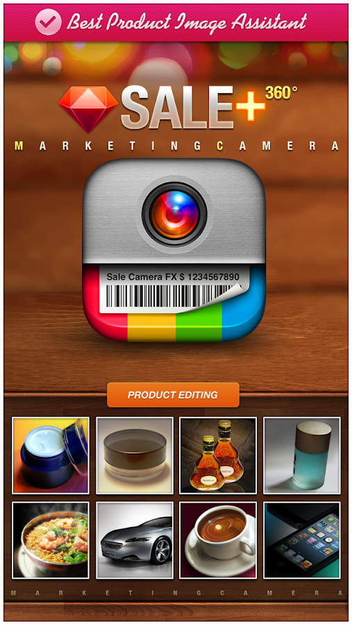 SALE 360 - Camera Photo Editor Screenshot