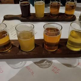 Beer Flight by Ronda Alex-Szankin - Food & Drink Alcohol & Drinks
