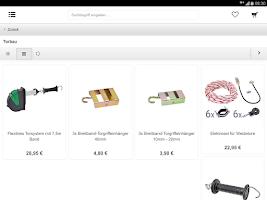 Screenshot of weidezaun.info Shop