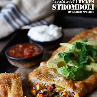 Feed Your Creativity ? Southwest Chicken Stromboli