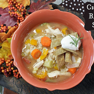 Crock Pot Chicken Barley Soup