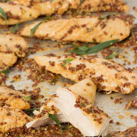 Mustard Baked Chicken Tenders