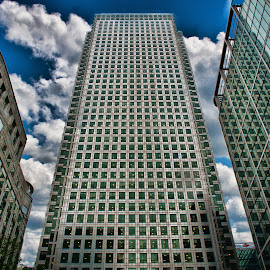 SKYSCRAPERS IN LONDON by Gianluca Presto - Buildings & Architecture Office Buildings & Hotels ( mirror, financial, mirrors, building, london, skyscraper, skyscrapers, buildings, cloudy, high, architecture, united kingdom )