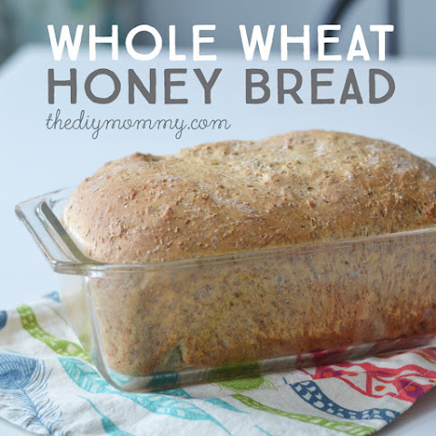 The Best Whole Wheat & Honey Bread