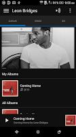 Screenshot of Microsoft Groove