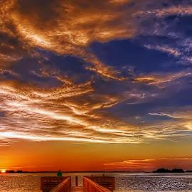 Dunedin, Florida. by Edward Allen - Landscapes Sunsets & Sunrises (  )