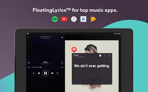 Musixmatch Lyrics APK for iPhone