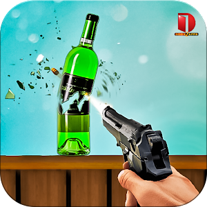 Real Bottle Shooting Free Games For PC