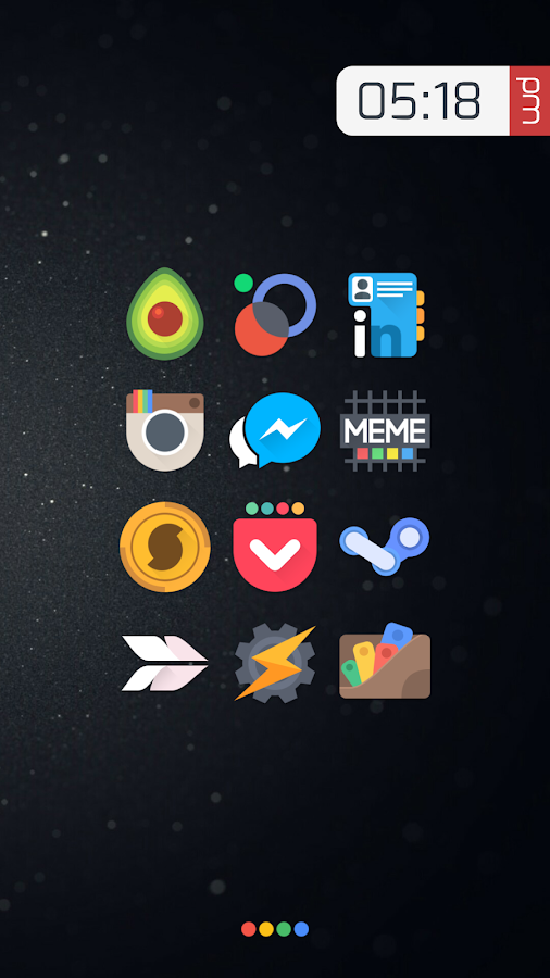 Crispy - Icon Pack(SALE!) Screenshot 0