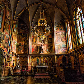 St. Vitus Cathedral by Bojan Porenta - Buildings & Architecture Places of Worship ( chatedral, interior, church, st. vitus cathedral, czech republic, prague,  )