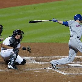 Nice Swing by Frank DeChirico - Sports & Fitness Baseball (  )