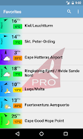 Screenshot of Windfinder Pro