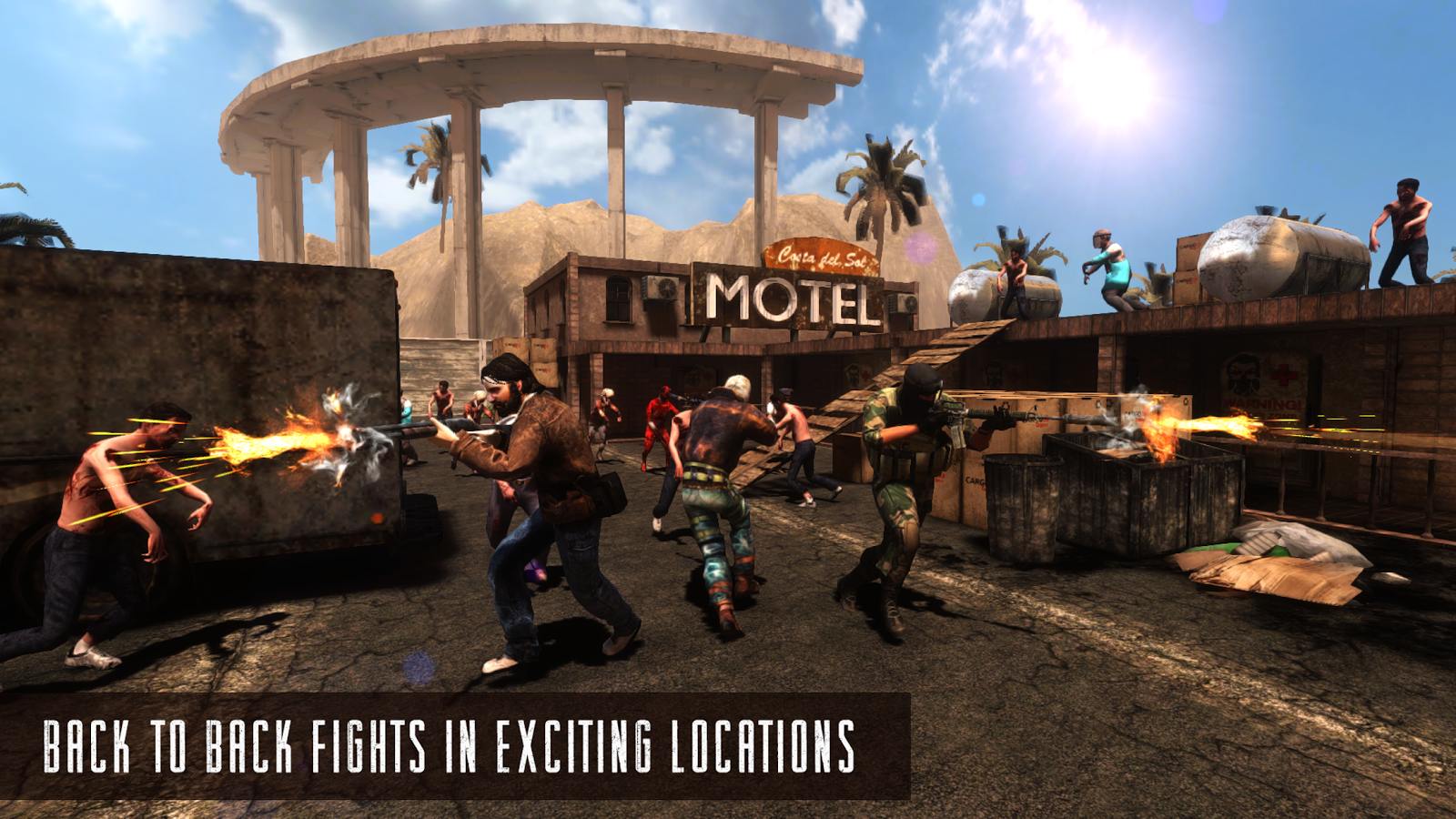Rage Z: Multiplayer Zombie FPS Screenshot 3