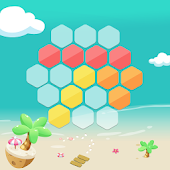 Magic Hexagons-Tetris hexagon