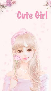 Cute Pink Girl Theme Rose Gold - screenshot