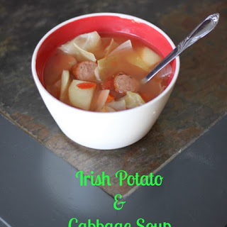 Irish Potato and Cabbage Soup