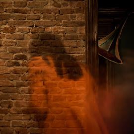 The Returning by Bogdan Rusu - Digital Art People ( never, ancient, again, ghost, wall )