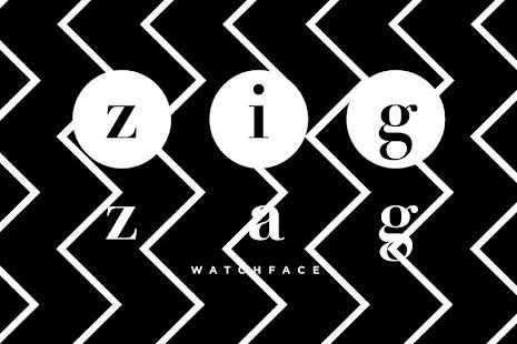 zig zag watch face