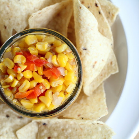 Sweet and Spicy Corn Salsa