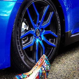 Heels and wheels by Ann Goldman - Novices Only Objects & Still Life ( wheels, car show, heels )