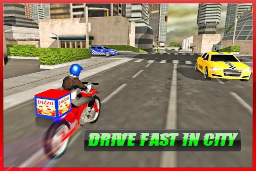 Moto Pizza Delivery - screenshot