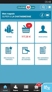 CoursesU vos courses en ligne APK for Bluestacks