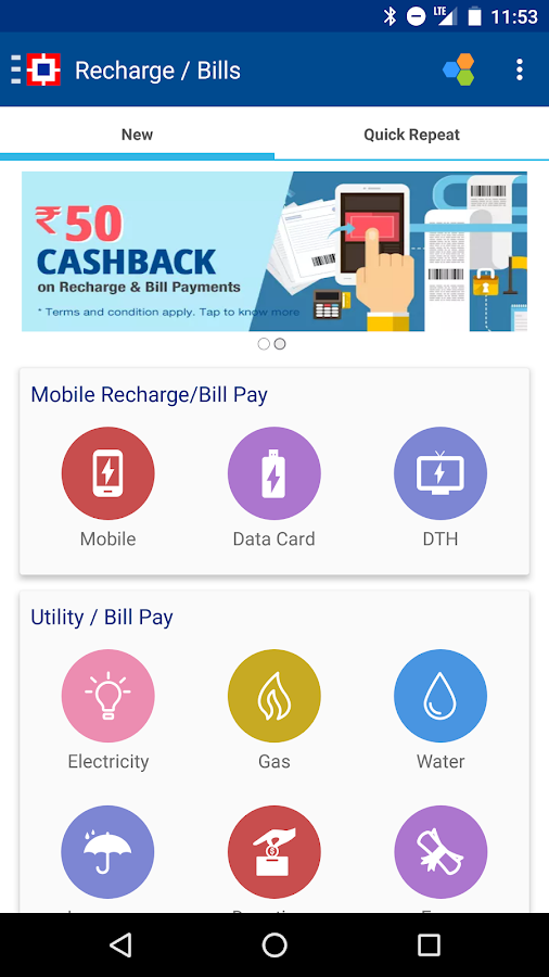 Recharge, Pay Bills & Shop Screenshot 5