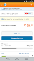 Screenshot of myAT&T