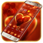 Valentine Day Theme For Lovers Icon