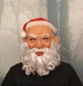 "Маска карнавальня Санта, серия ""Хеллоуин"""