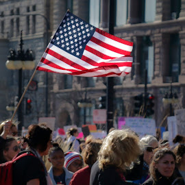 Woman's March, Chicago by Michael Lemm - People Street & Candids