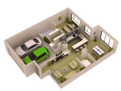 Download Android App 3D Small Home Plan Ideas for Samsung