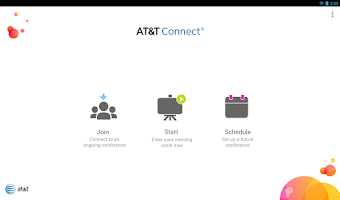 Screenshot of AT&T Connect