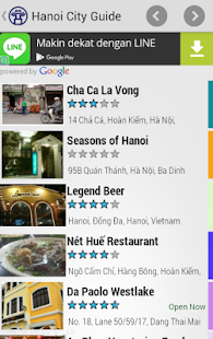 Hanoi City Guide - screenshot