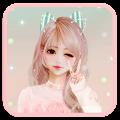 APK App Cute Girl Theme for BB, BlackBerry
